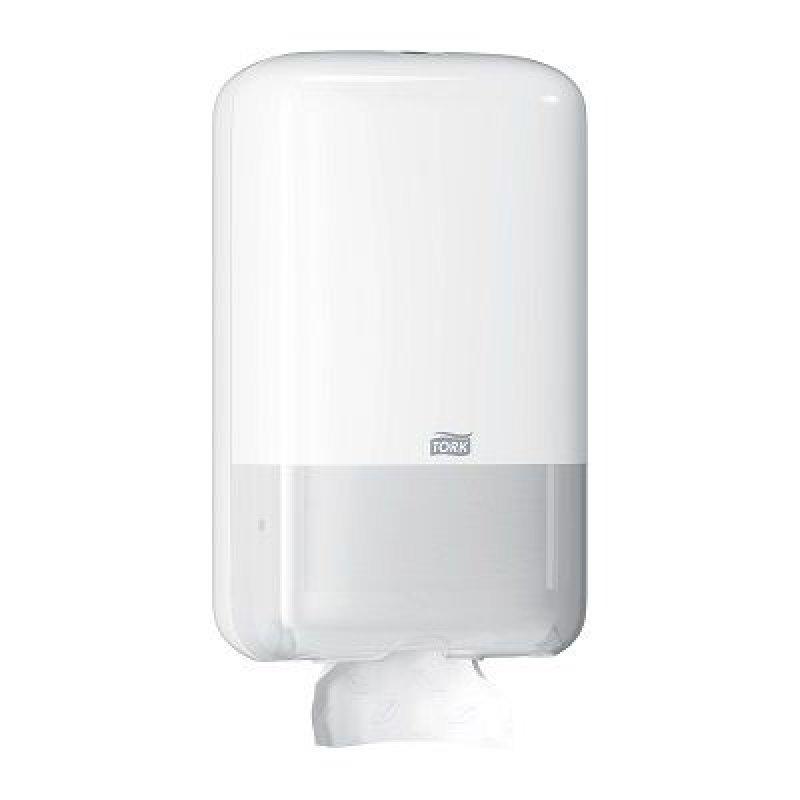 Держатель для листовой туалетной бумаги Tork Elevation белый