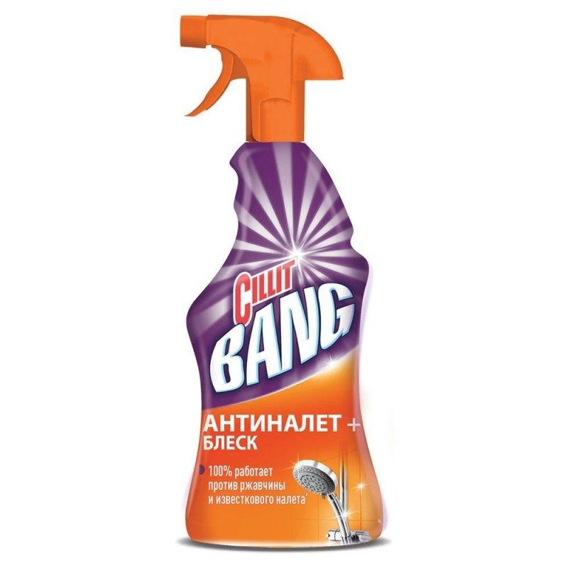 Чистящее средство для сантехники 750мл Cillit Bang антиналет и блеск курок