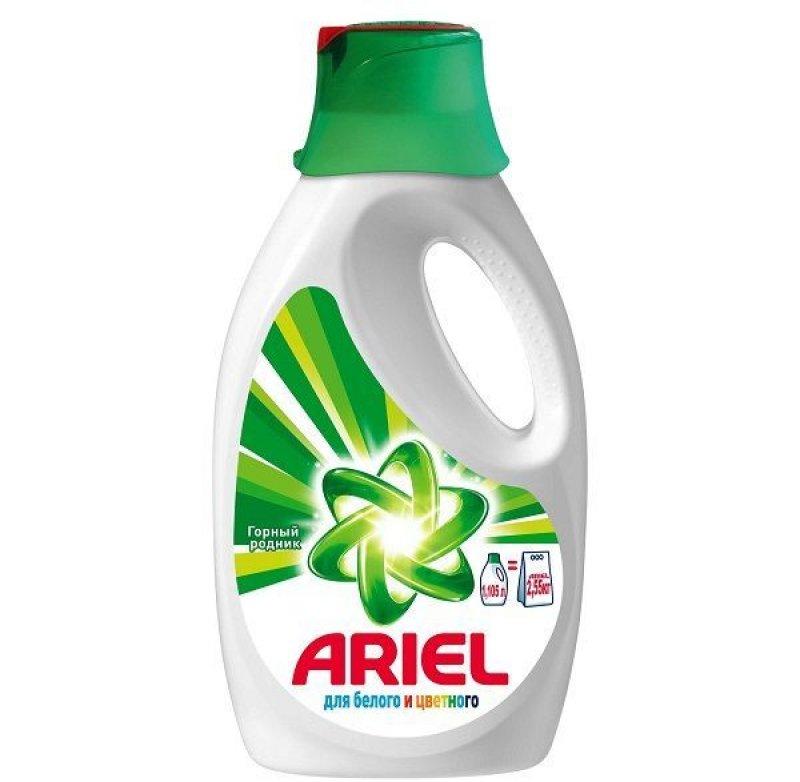 Стиральный порошок 1,04л жидкий ассорти Ariel