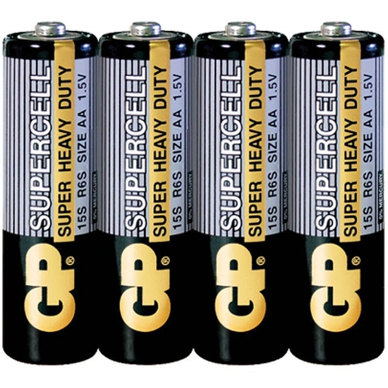 Батарейка GP Supercell - Power Plus R06 АА солевой