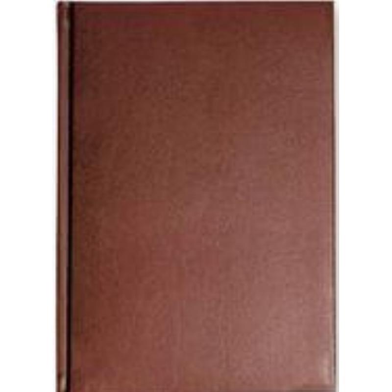 Ежедневник А5 недат Ideal New коричневый