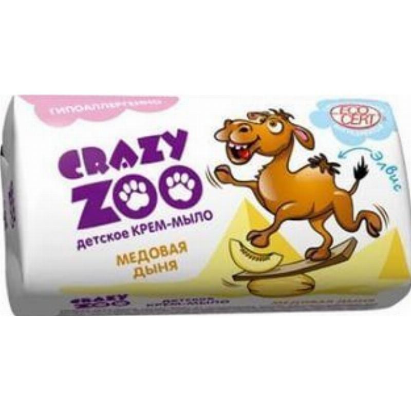 Мыло 90гр Crazy Zoo детское ассорти