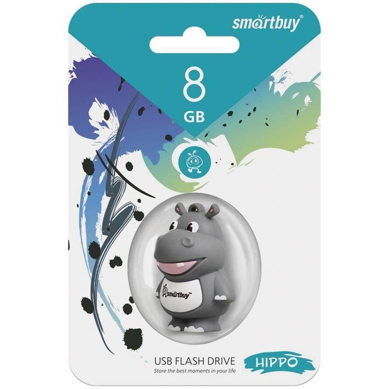 Носитель информации Flash USB 8ГБ Smart Buy ассорти