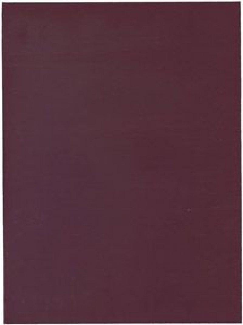 Тетрадь А4 96л Бордовая бумвини клетка скрепка