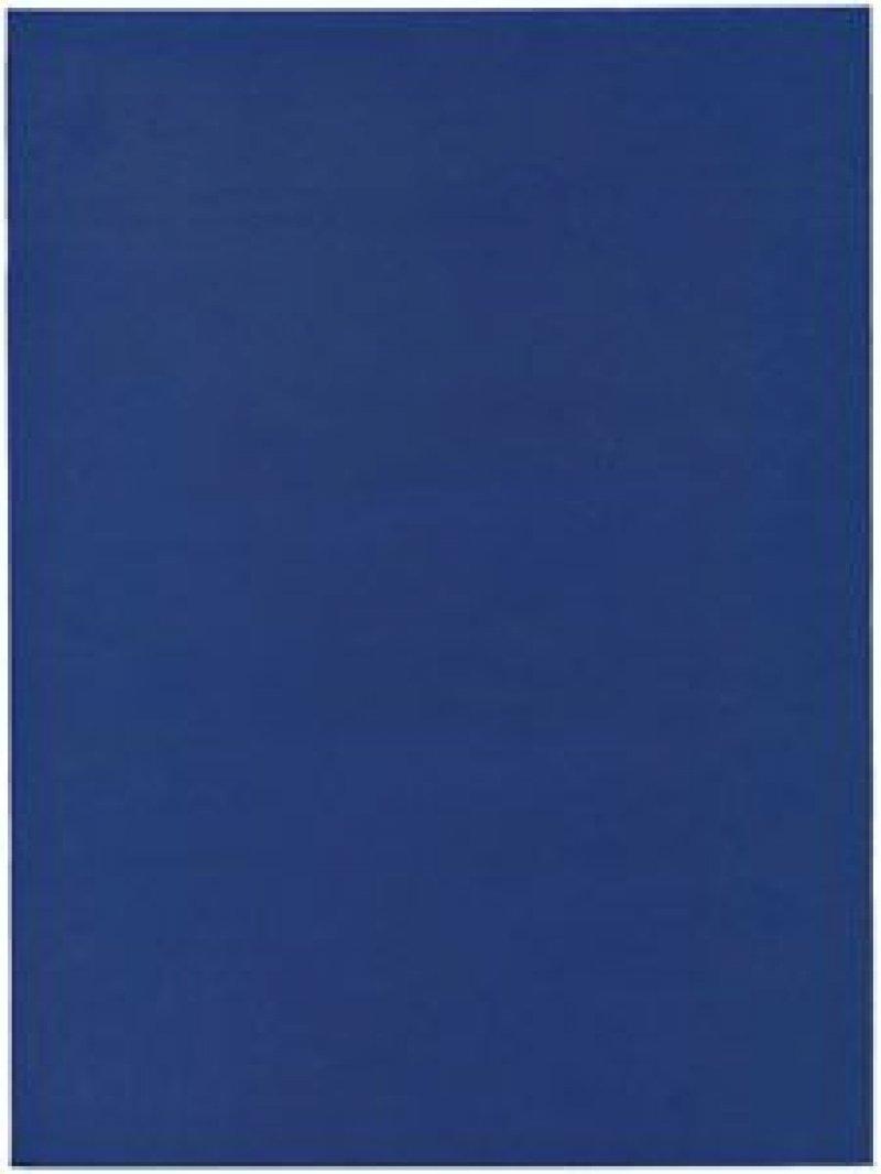 Тетрадь А4 96л Синяя бумвинил клетка скрепка
