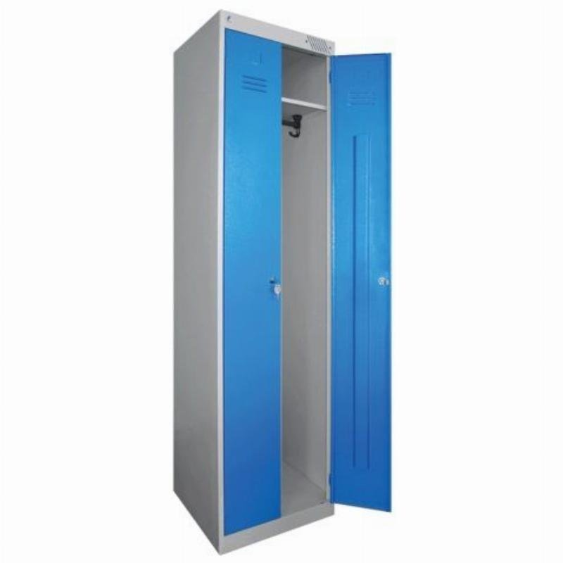 Шкаф металлический для одежды 2 секции ШРЭК-22-530 1850х530х500мм 30кг