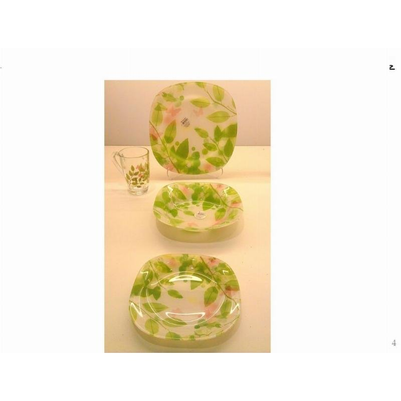 Тарелка 215мм Баттерфляй суповая Pasabahce стекло
