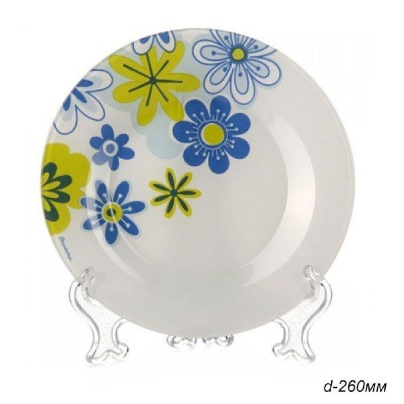 Тарелка 200мм Спринг десертная Pasabahce стекло