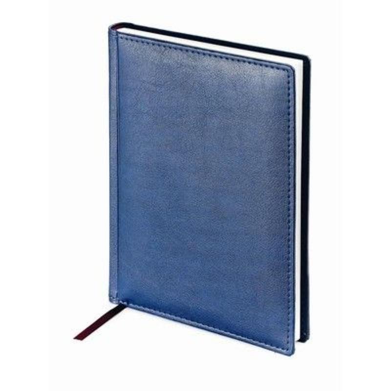 Ежедневник А5 недат Leader синий