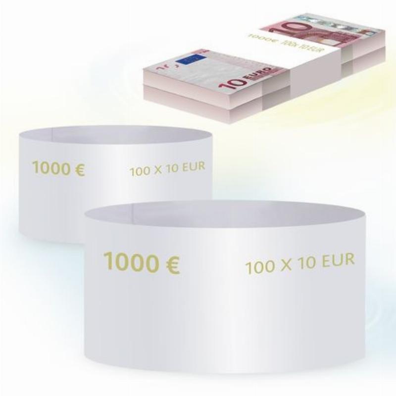 Кольцо бандерольное 10 евро 500шт/уп