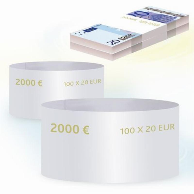 Кольцо бандерольное 20 евро 500шт/уп