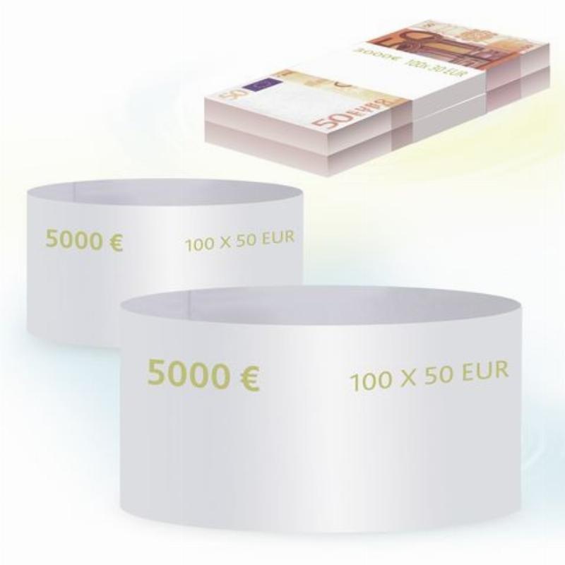 Кольцо бандерольное 50 евро 500шт/уп