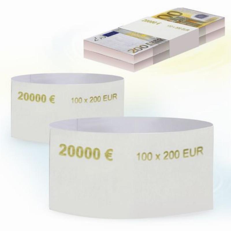 Кольцо бандерольное 200 евро 500шт/уп