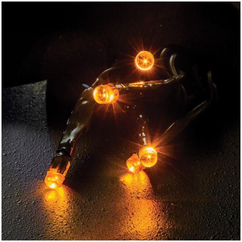 Гирлянда электрич 100ламп желтая 8 режимов 11,5м
