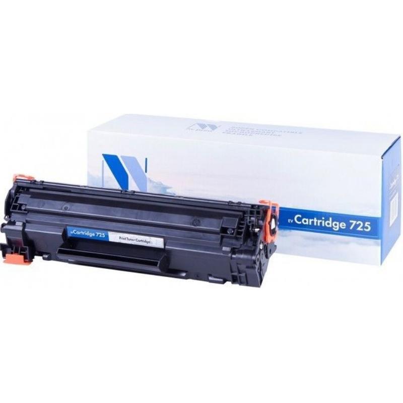 Картридж для Canon LBP-6000/MF3010/Р1102/Р1102W Canon 725 1600стр черный NV-Print