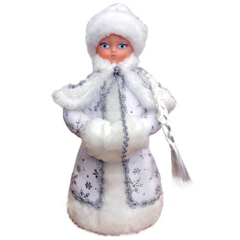 Новогодняя игрушка Снегурочка 35см