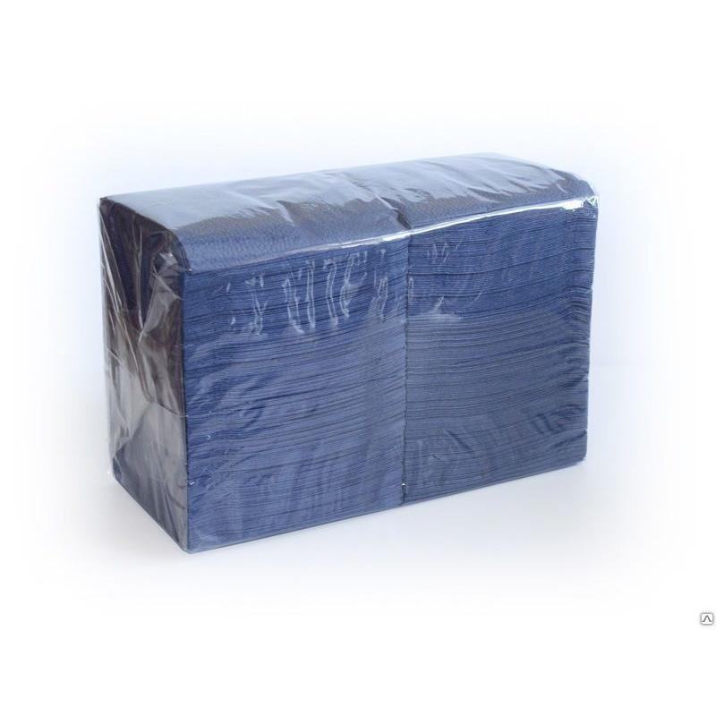 Салфетки 400л Almax Биг Пак 24х24см 1сл синие
