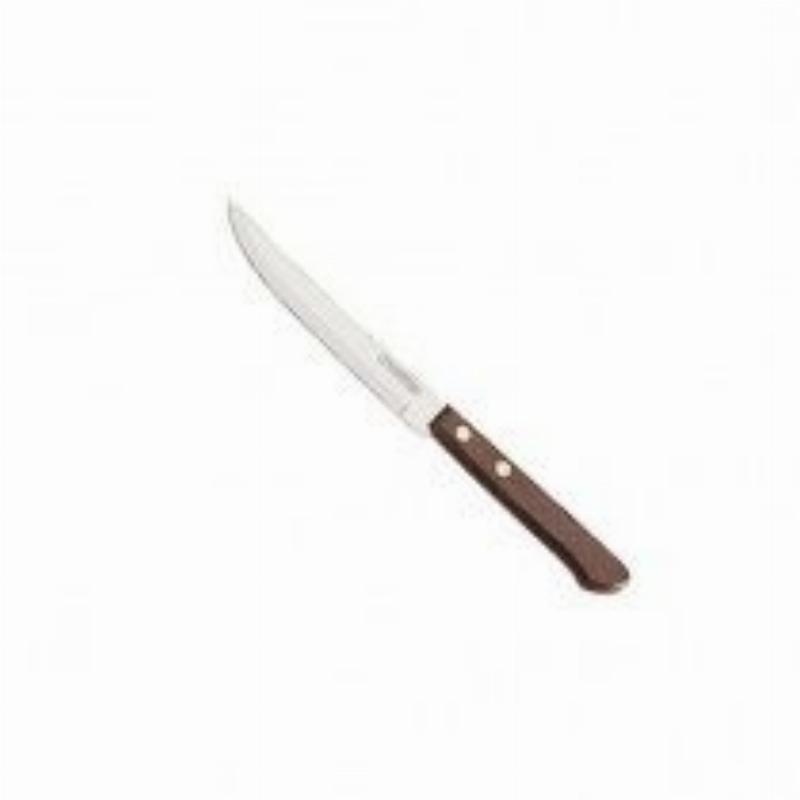 Нож кухонный 5 Трамантина универсальный дерев ручка нерж зубчатый