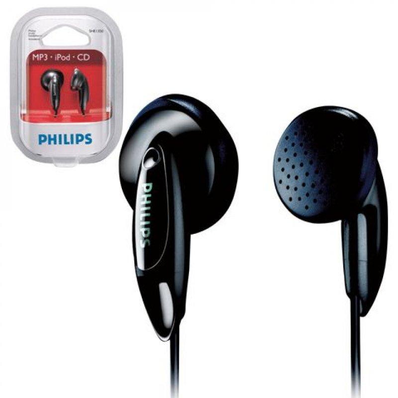 Наушники-вкладыши Philips SHE 1350 1м черный