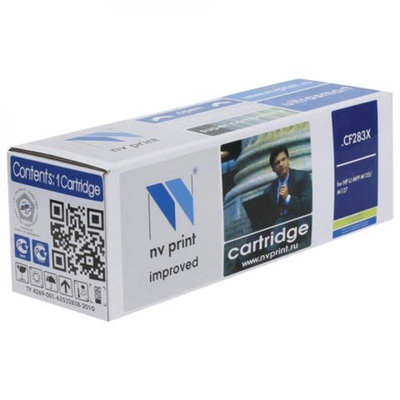 Картридж для HP LJ Pro M201/M225 CF283X 2200стр черный NV-Print