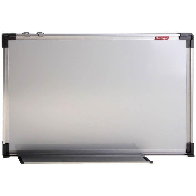 Доска магнитно-маркерная 90х150см алюминиевая рамка