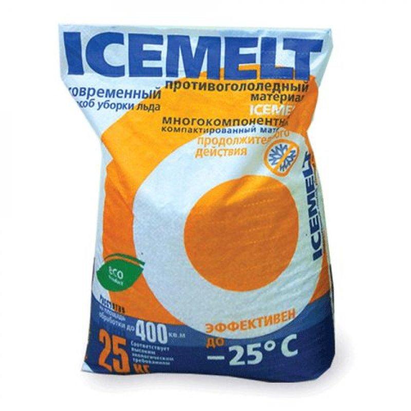 Реагент антигололедный Айсмелт 25кг до -20С мешок