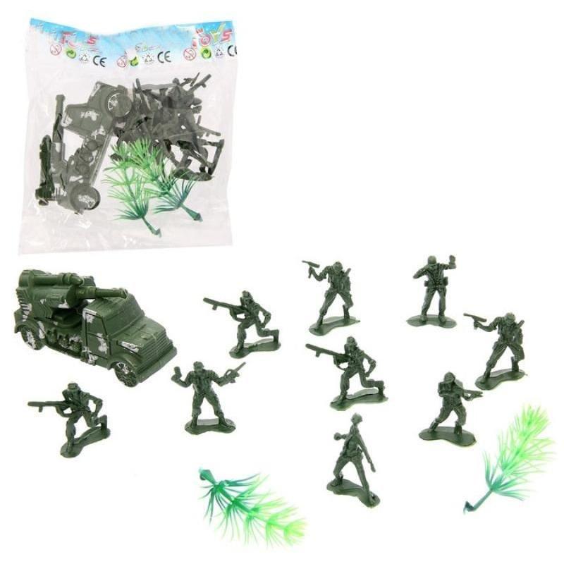 Набор солдатиков Застава ассорти