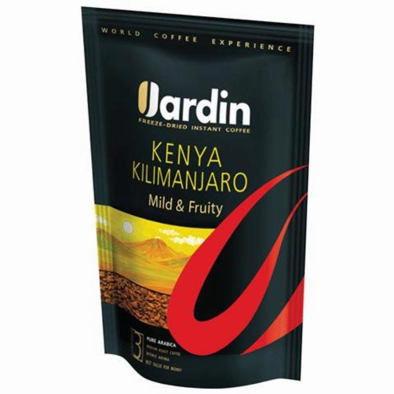 Кофе Jardin Kenya Kilimanjaro сублимированный 150г мягкая упаковка