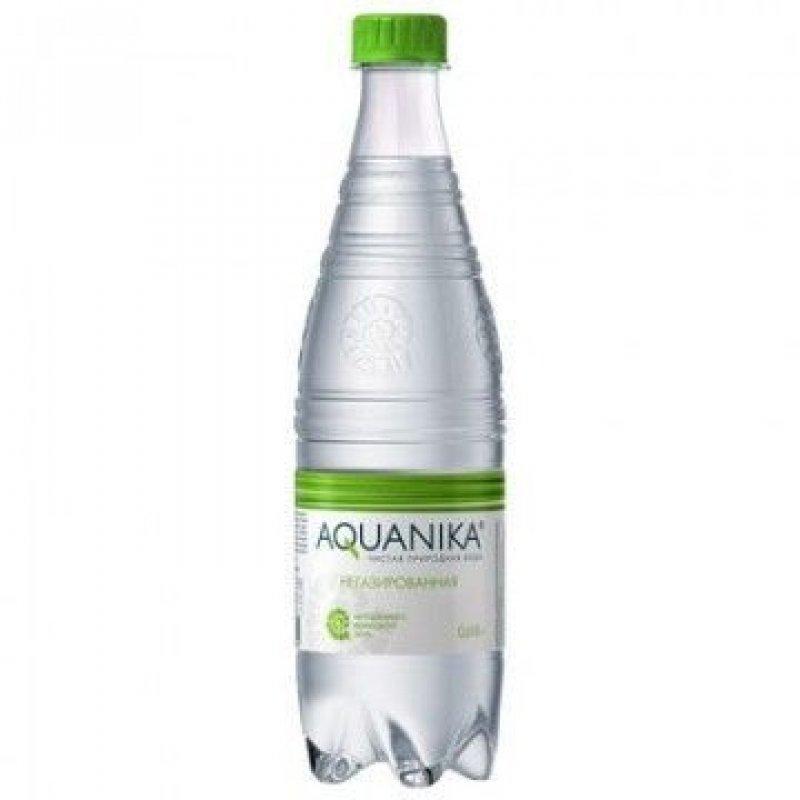 Вода минеральная негазированная Акваника премиум 0,618 л