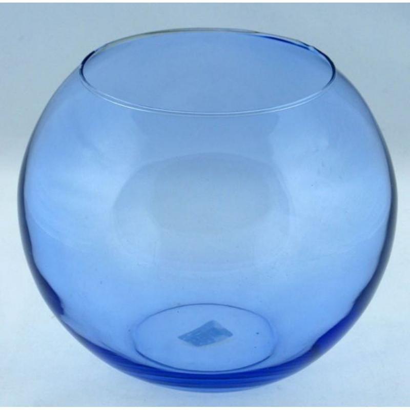 Ваза 10,25см для цветов Флора Инждой синяя Pasabahce