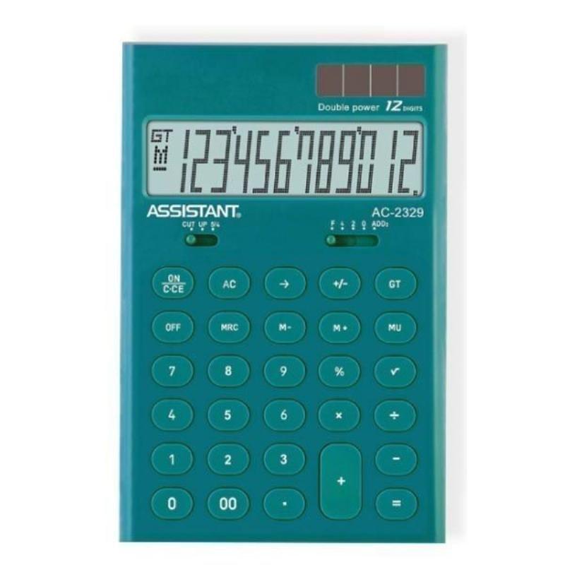 Калькулятор Assistant AC-2329Murena 165х108мм 12 разр