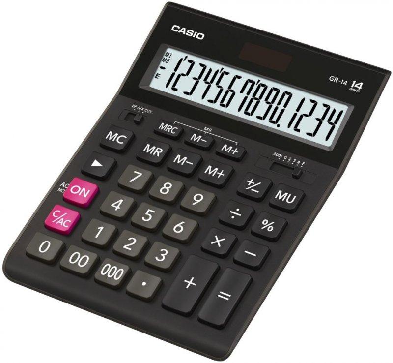 Калькулятор Casio GR-12 209x155 12 разр черный