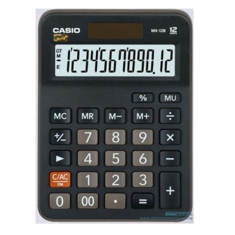 Калькулятор Casio MX-12B 106.5x147мм 12 разр черный