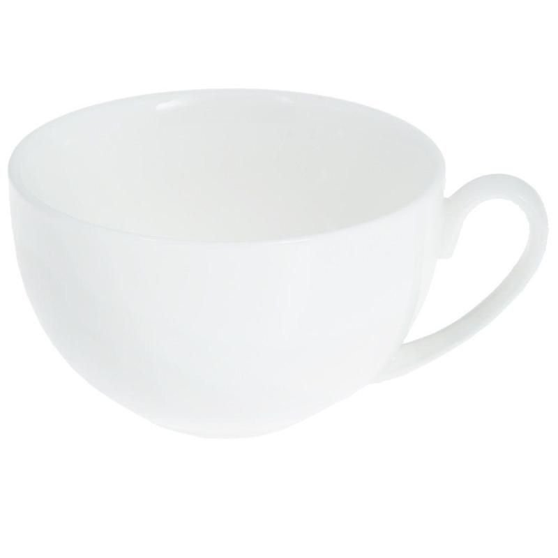 Чашка для чая 250мл белая фарфор
