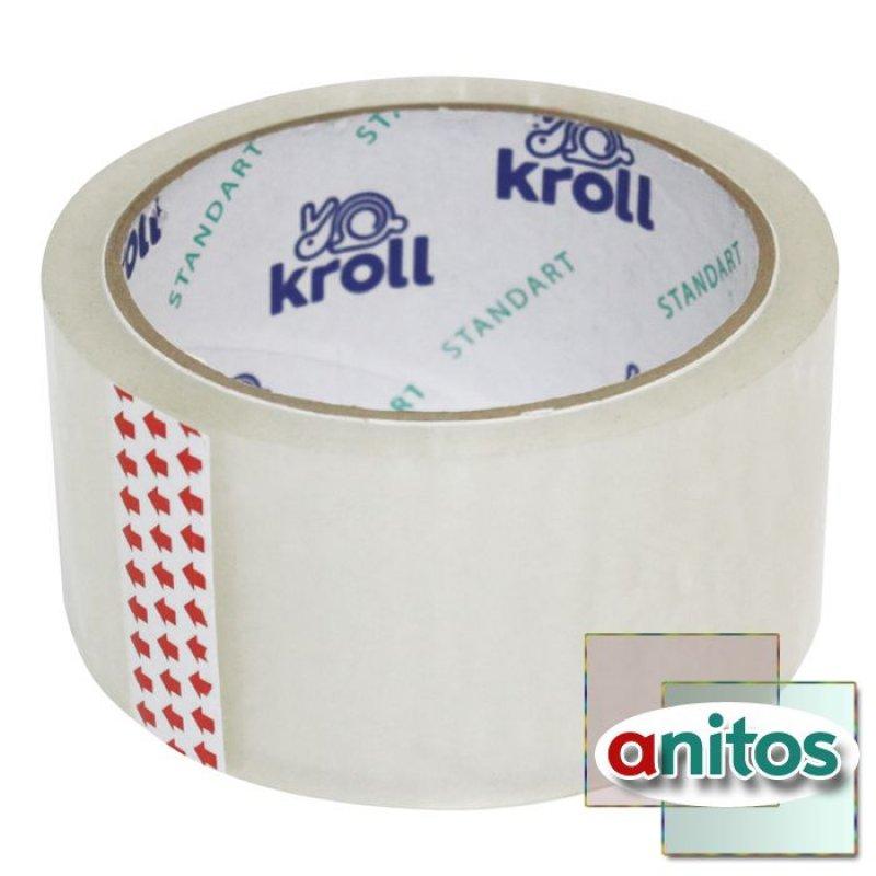 Клейкая лента упаковочная 48х100 прозрачная TR
