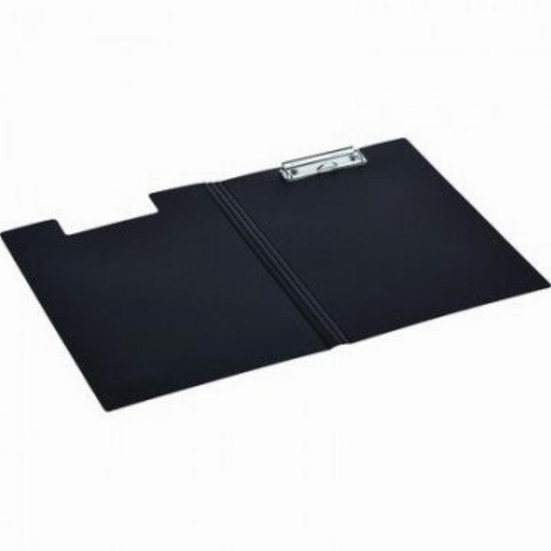Папка-планшет двойная с верхней крышкой и зажимом Attache А4 черный