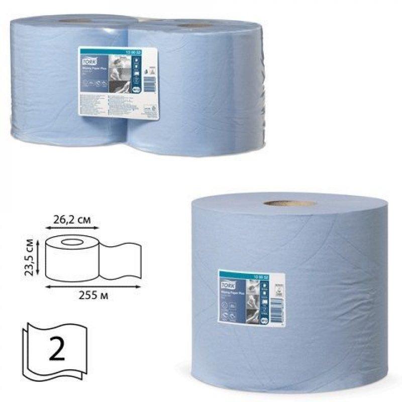 Полотенце бумажное рулон Tork Advanced 2сл 255м голубое 2шт/уп