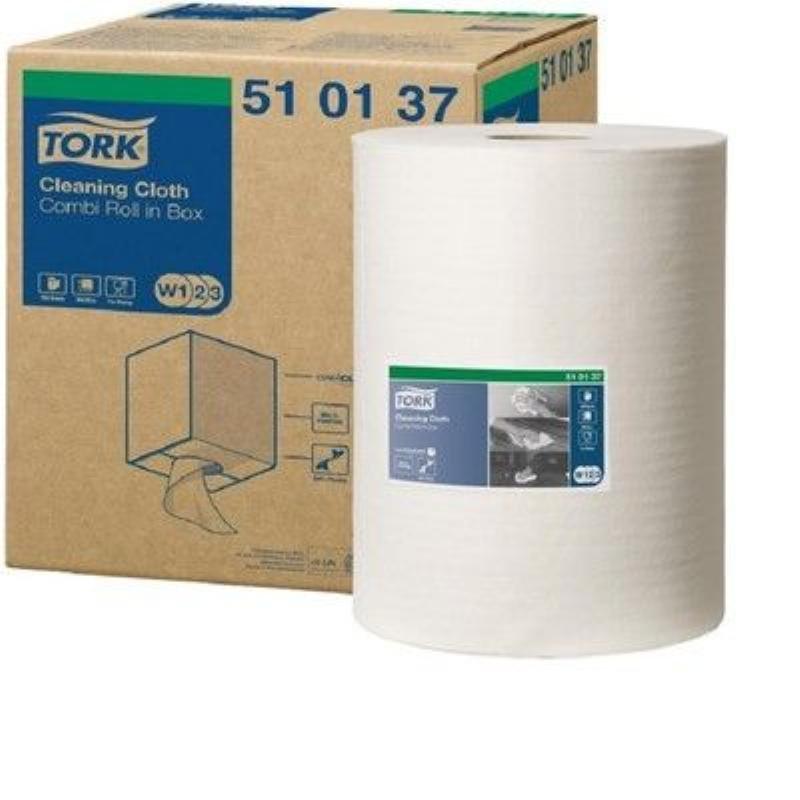 Полотенце бумажное Tork материал повышенной прочности 152м серое