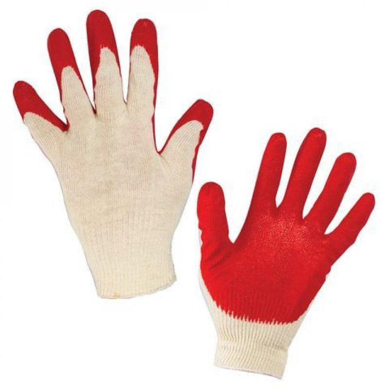 Перчатки х/б с обливной заливкой