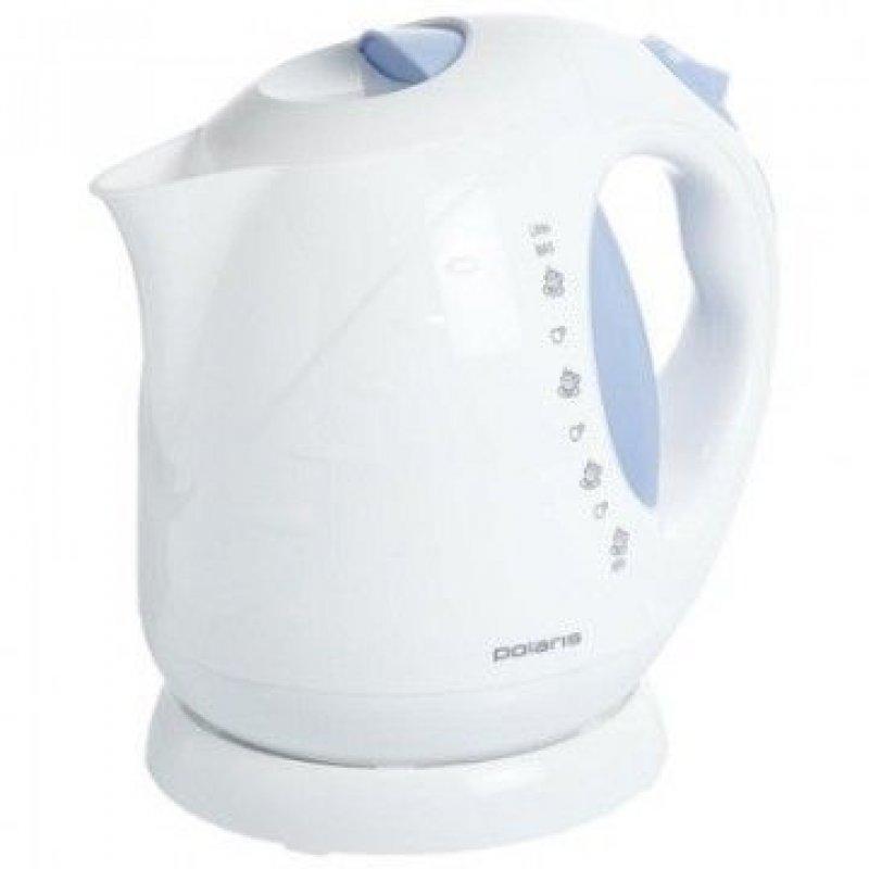 Чайник Polaris PWK 2013C 2000Вт 2л пластик белый/синий