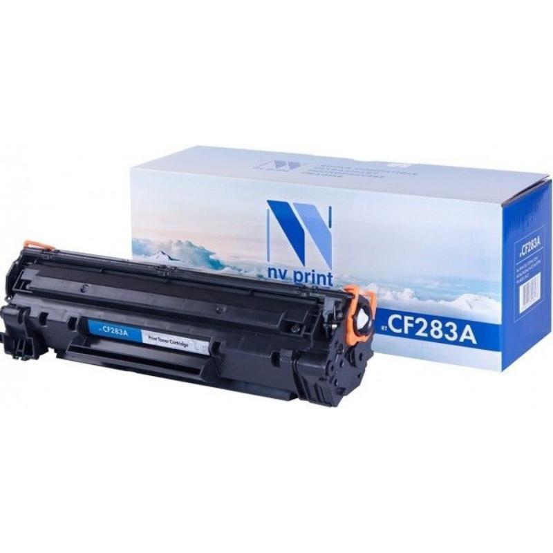Картридж для HP LJ MFP M125/M127 CF283A 1500стр черный NV-Print