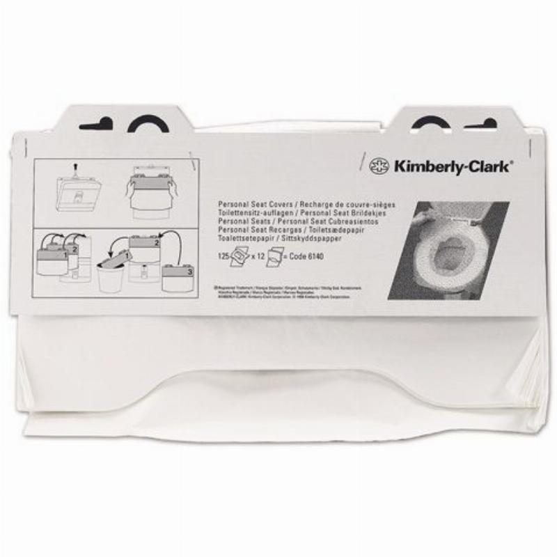 Покрытия на унитаз Kimberly Clark 381х457мм 125шт/уп