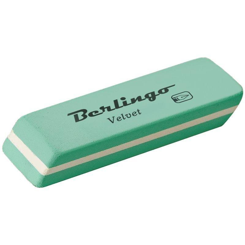 Ластик Berlingo Velvet 50х18х9мм прямоугольный натуральный каучук