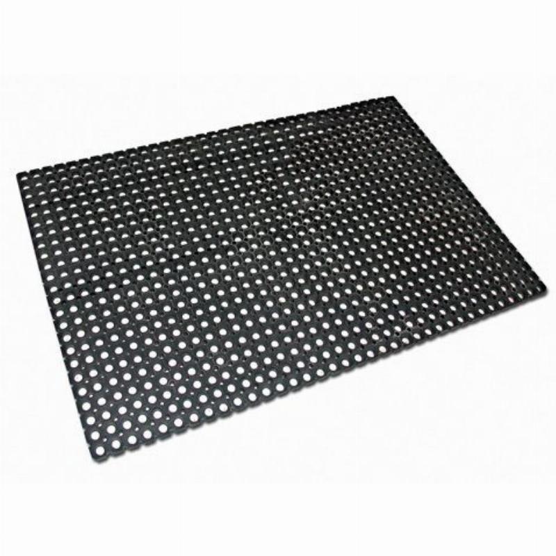 Коврик входной резиновый грязезащитный 50x100x2,2 см Индия