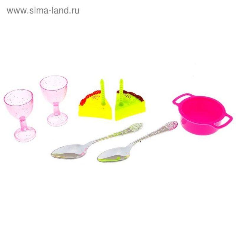 Набор посудки 7 предметов с продуктами