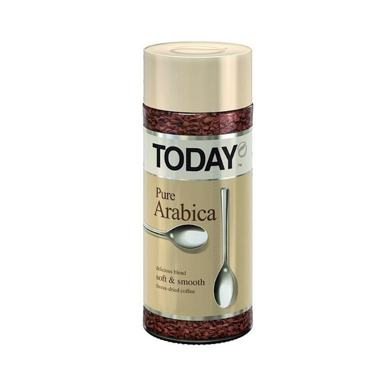 Кофе Today Pure Arabica 95г стеклянная банка