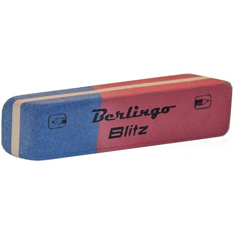 Ластик Berlingo Blitz 54х14х8мм прямоугольный натуральный каучук