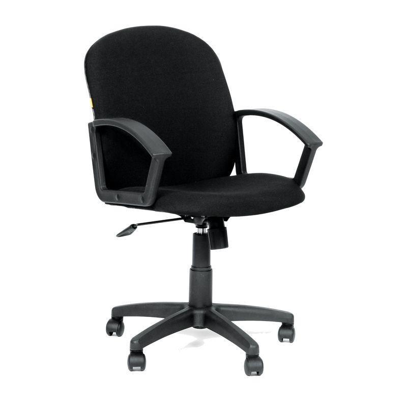 Кресло для оператора Chairman CH-681 с подлокотниками ткань черное