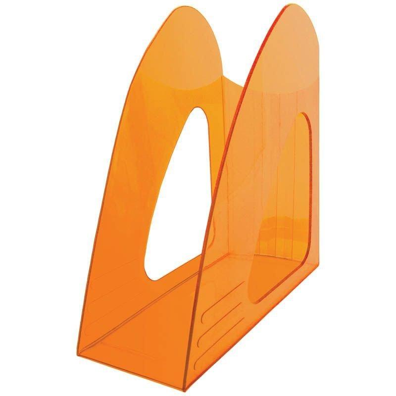 Стойка для бумаг Berlingo Mega Top тонированный оранжевый
