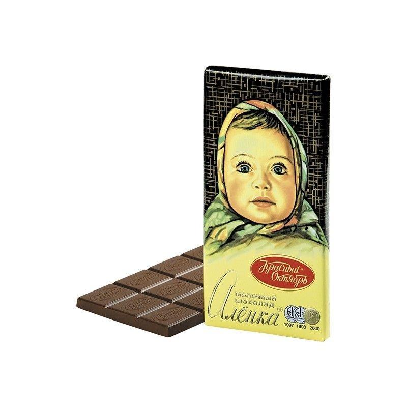 Шоколад Аленка 100г молочный
